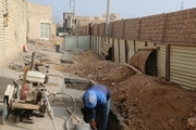 عملیاتی شدن بیش از90درصد شبکه فاضلاب در شهرستان مبارکه