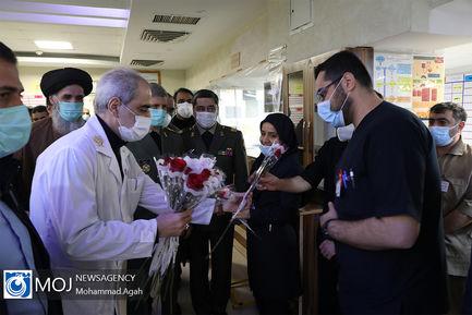 تقدیر از کادر درمان بیمارستان شهید چمران