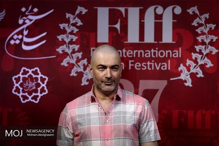 سومین روز  سی و هفتمین جشنواره جهانی فیلم فجر / پارسا پیروزفر