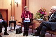 مری رابینسون و اخضر ابراهیمی با ظریف در مونیخ دیدار کرد