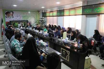 بازدید اصحاب رسانه از پروژه قطار شهری کرمانشاه