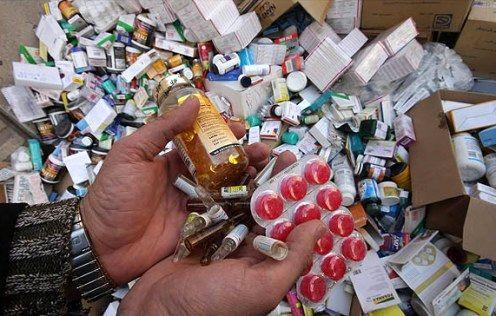 باند تهیه و توزیع لوازم بهداشتی و داروهای تقلبی منهدم شد