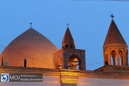 حال و هوای آغاز سال نو میلادی در کلیسای جلفا اصفهان
