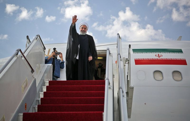 سفر رییس جمهوری و اعضای هیات دولت به گلستان