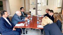 ظریف با وزیر امور خارجه صربستان دیدار کرد