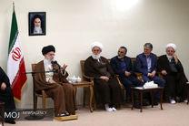 دیدار دستاندرکاران کنگره بزرگداشت مرحوم آیتالله مصطفی خمینی با مقام معظم رهبری