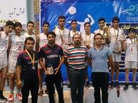 نایب قهرمانی نونهالان والیبالیست کردستانی