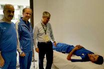 عیادت رئیس کمیته ملی المپیک از دوچرخه سوار حادثه دیده ایران