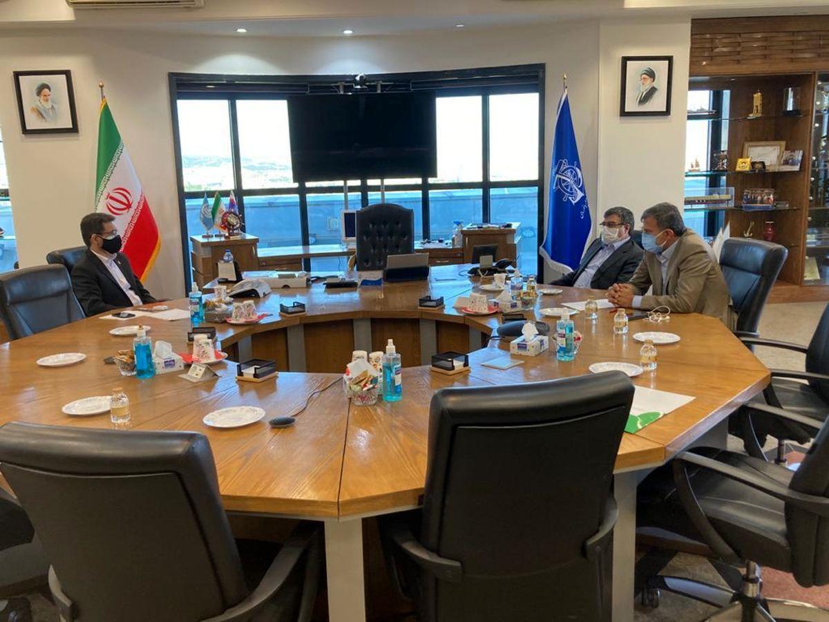 دیدار احمد مرادی با مدیرعامل سازمان بنادر و دریانوردی کشور