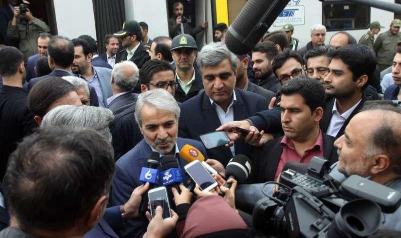 بهره برداری رسمی قطار رشت با حضور رئیس جمهوری در آینده ای نزدیک