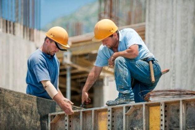 دستمزد کارگران ساختمانی تا 7.8 درصد تورم داشته است