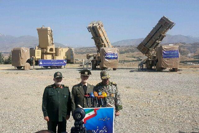 سامانه پدافند هوایی پیشرفته 15 خرداد رونمایی شد