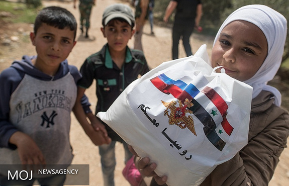 ارسال کمک های بشردوستانه روسیه به لاذقیه
