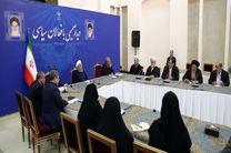 دیدار جمعی از فعالان سیاسی با رئیس جمهور