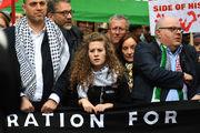 تظاهرات هزاران نفر در لندن در حمایت از مردم مظلوم فلسطین
