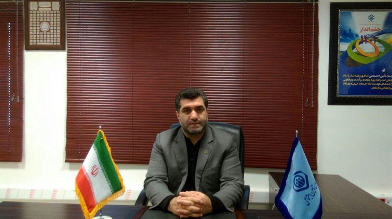 بیش از ١١٠ هزار نفر از شهروندان رشتی تحت پوشش تامین اجتماعی شعبه سه رشت می باشند