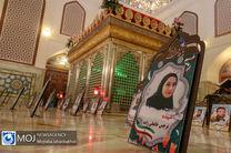 جز خوانی قرآن کریم در امامزاده ابراهیم (ع) دولت آباد اصفهان
