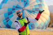 آغاز ضبط مستند مسابقه «راهی شو»با پرش سقوط آزاد ارشا اقدسی+عکس