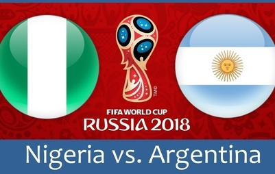 ساعت بازی آرژانتین و نیجریه در جام جهانی