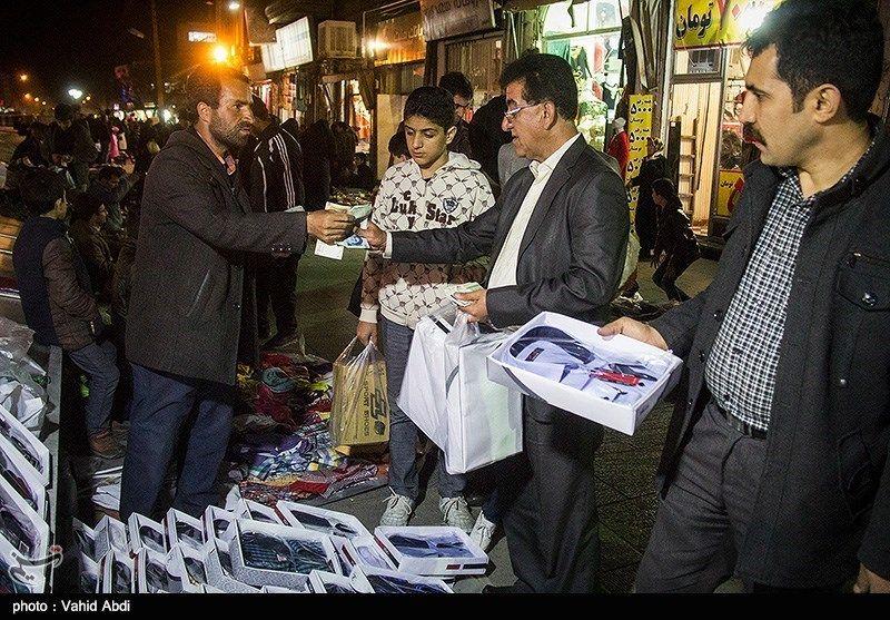 دستفروشان حق فعالیت و عرضه کالا در شب بازار بوعلی ندارند