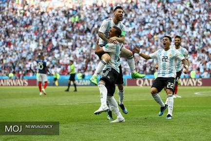 جام جهانی فوتبال - دیدار تیم های فرانسه و آرژانتین