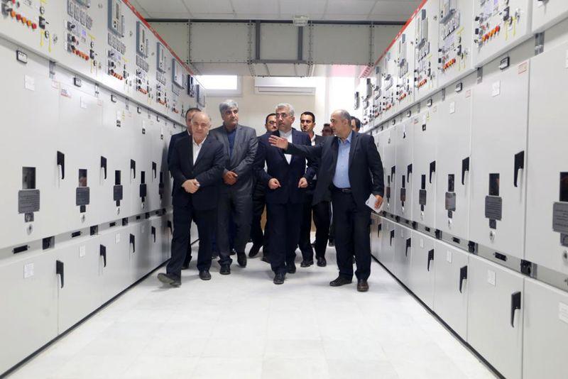 افتتاح هم زمان شش پروژه شرکت برق منطقه ای گیلان