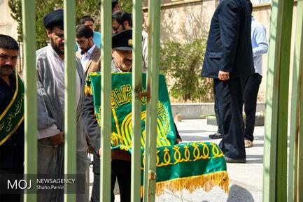 حضور کاروان زیر سایه خورشید در امامزاده پیرمحمد (ع) سنندج