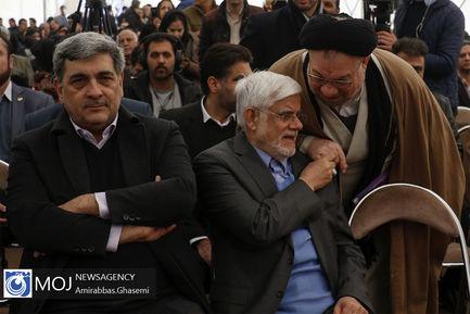 افتتاح+پروژه+های+منطقه+۲۲+شهرداری+تهران