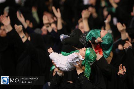 اجتماع مادران و شیرخوارگان عاشورایی در مصلی تهران