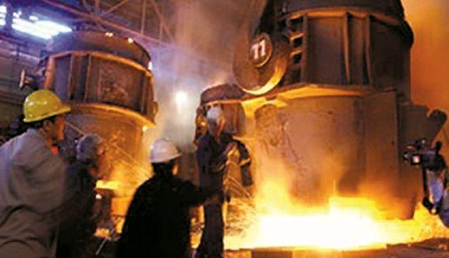 تولید ورق ساخت لوله های احیای مستقیم فولاد چادرملو در فولاد مبارکه