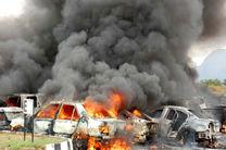 انفجار شدید خودروی بمب گذاری شده در شمال بغداد