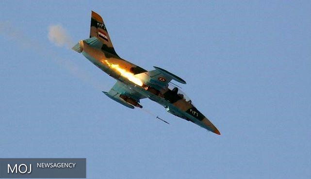 جنگنده های سوریه مواضع داعش را بمباران کردند