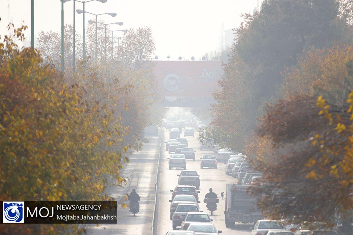 کیفیت هوای اصفهان همچنان ناسالم برای عموم مردم