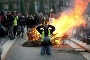 تظاهرات جلیقه زردها در لندن