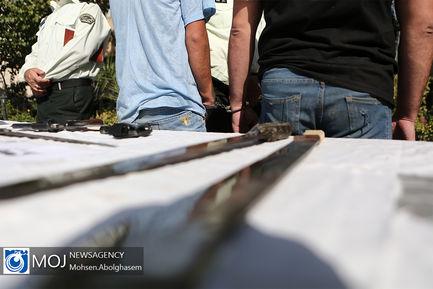 چهارمین مرحله از اجرای طرح کاشف پلیس پایتخت
