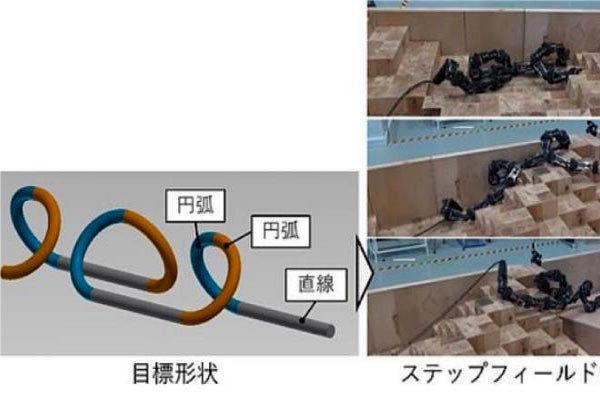 ابداع مار رباتیک برای عملیات های نجات