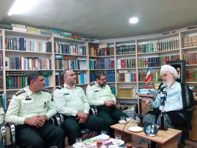 امنیت با پیاده کردن برنامههای قرآنی در جامعه نهادینه میشود