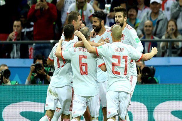 دیه گو کاستا بهترین بازیکن دیدار ایران و اسپانیا شد