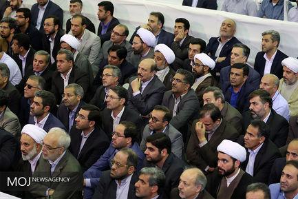 حضور مقام معظم رهبری در دانشگاه فرهنگیان
