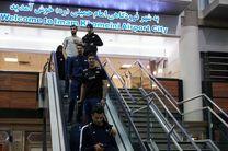 کاروان تیم ملی والیبال بامداد امروز وارد تهران شدند