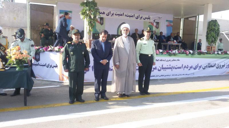 صبحگاه مشترک نیروهای انتظامی در کهگیلویه و بویراحمد برگزار شد