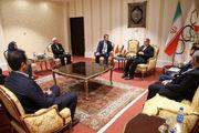 رئیس کمیته ملی المپیک با سفیر ترکیه در ایران دیدار کرد