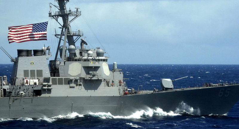دو ناو آمریکایی وارد آب های تنگه تایوان شدند