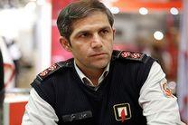 حادثه آتش سوزی باغ رستوران در منطقه فرحزاد تهران