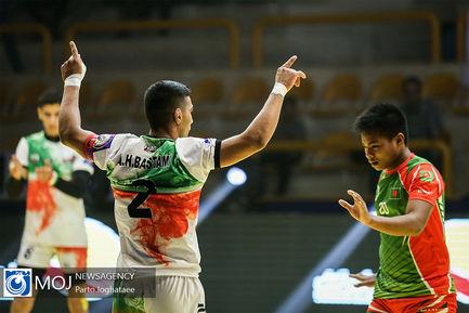 دیدار تیم های ملی کبدی جوانان ایران و بنگلادش