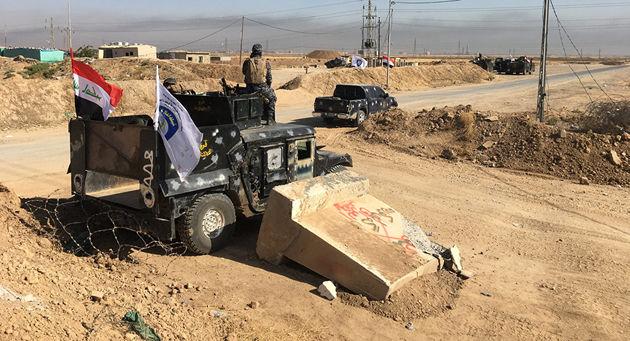 تسلط نیروهای عراقی بر سنجار