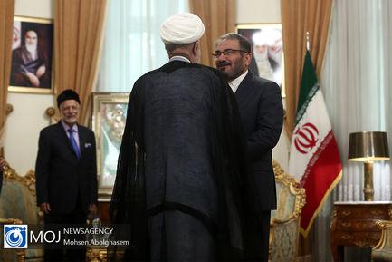 دیدار وزیر خارجه عمان با دبیر شورای عالی امنیت ملی