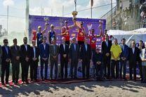 پایان تور جهانی والیبال ساحلی در منطقه آزاد انزلی