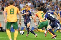 ژاپن با شکست استرالیا به جام جهانی صعود کرد