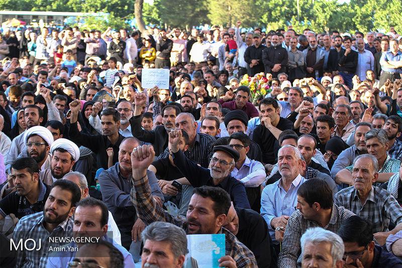 تشکر سیدحسن خمینی از حضور گسترده مردم در سالگرد ارتحال امام(ره)